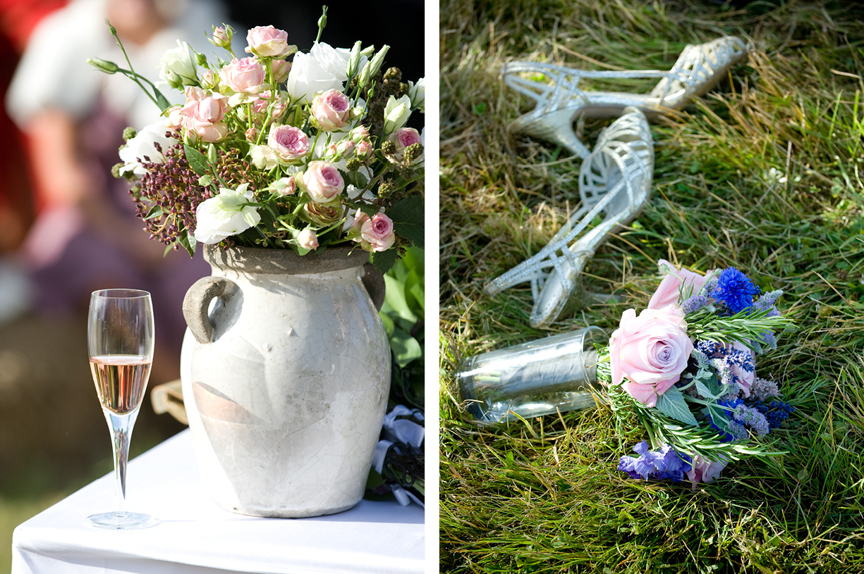 flowers and details summer wedding photography Alresford Hampshire