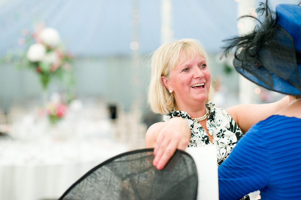 guest greets mother of the bride hats summer wedding photography Braintree Essex