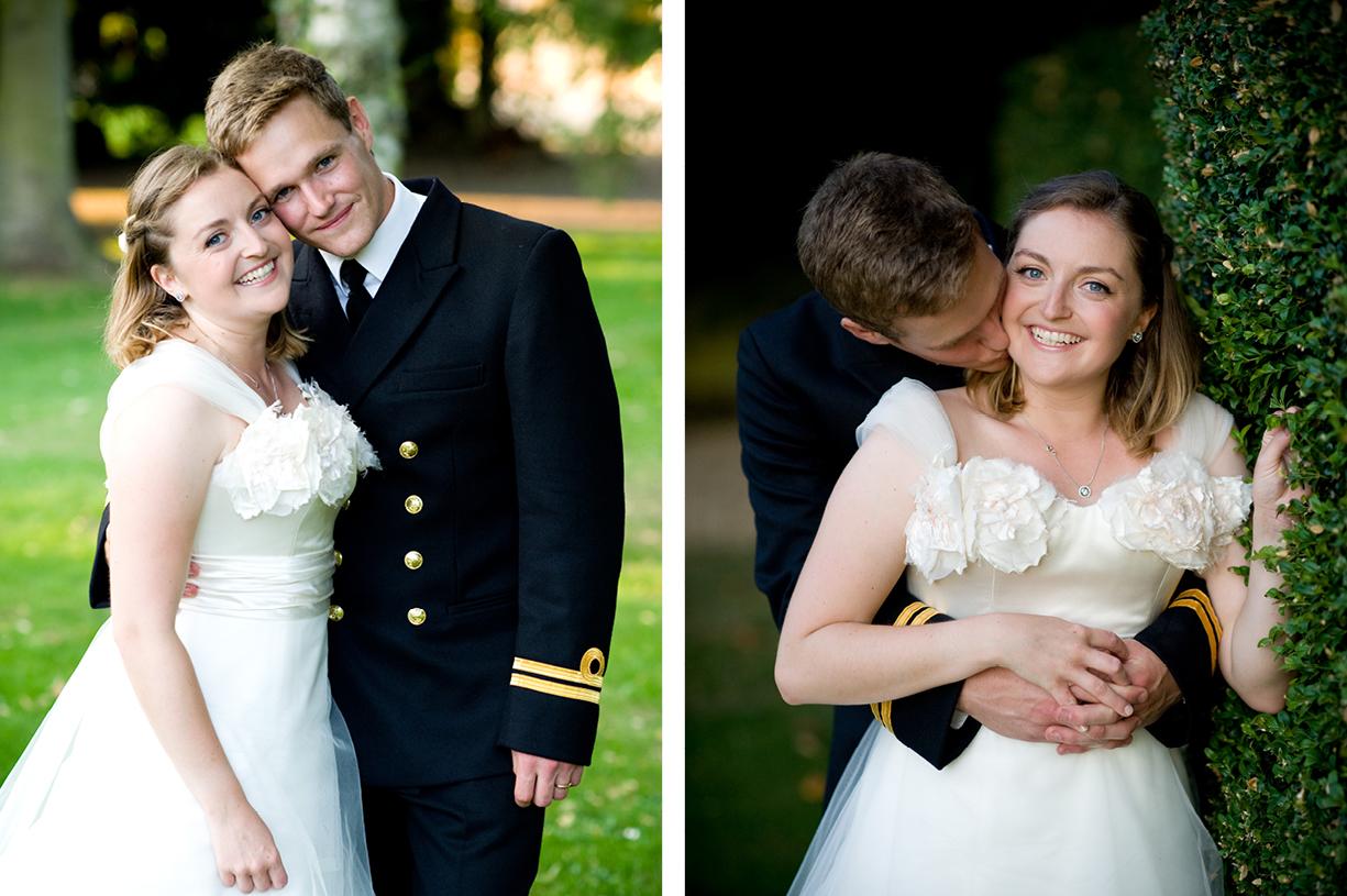 Philippa Lepley wedding dress couple portraits summer wedding photography Braintree Essex