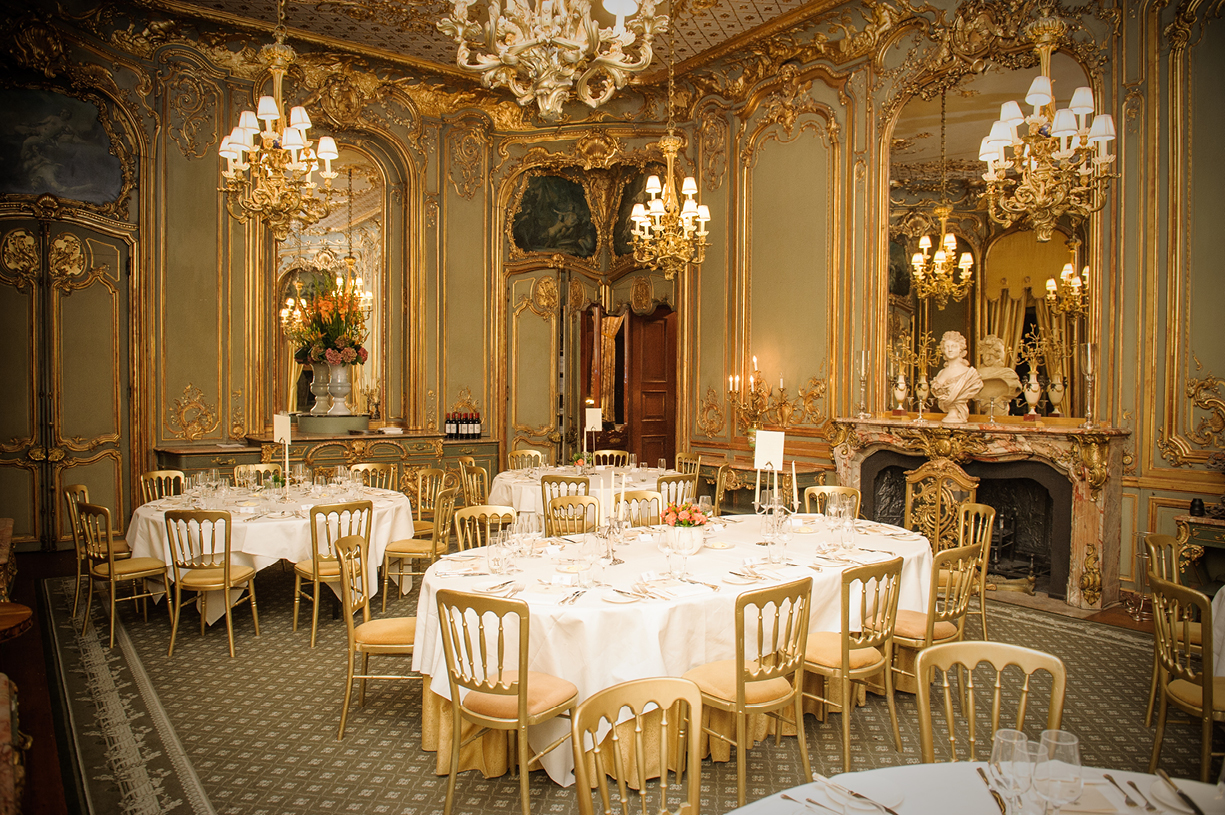 50th birthday party French Dining Room Cliveden House National Trust