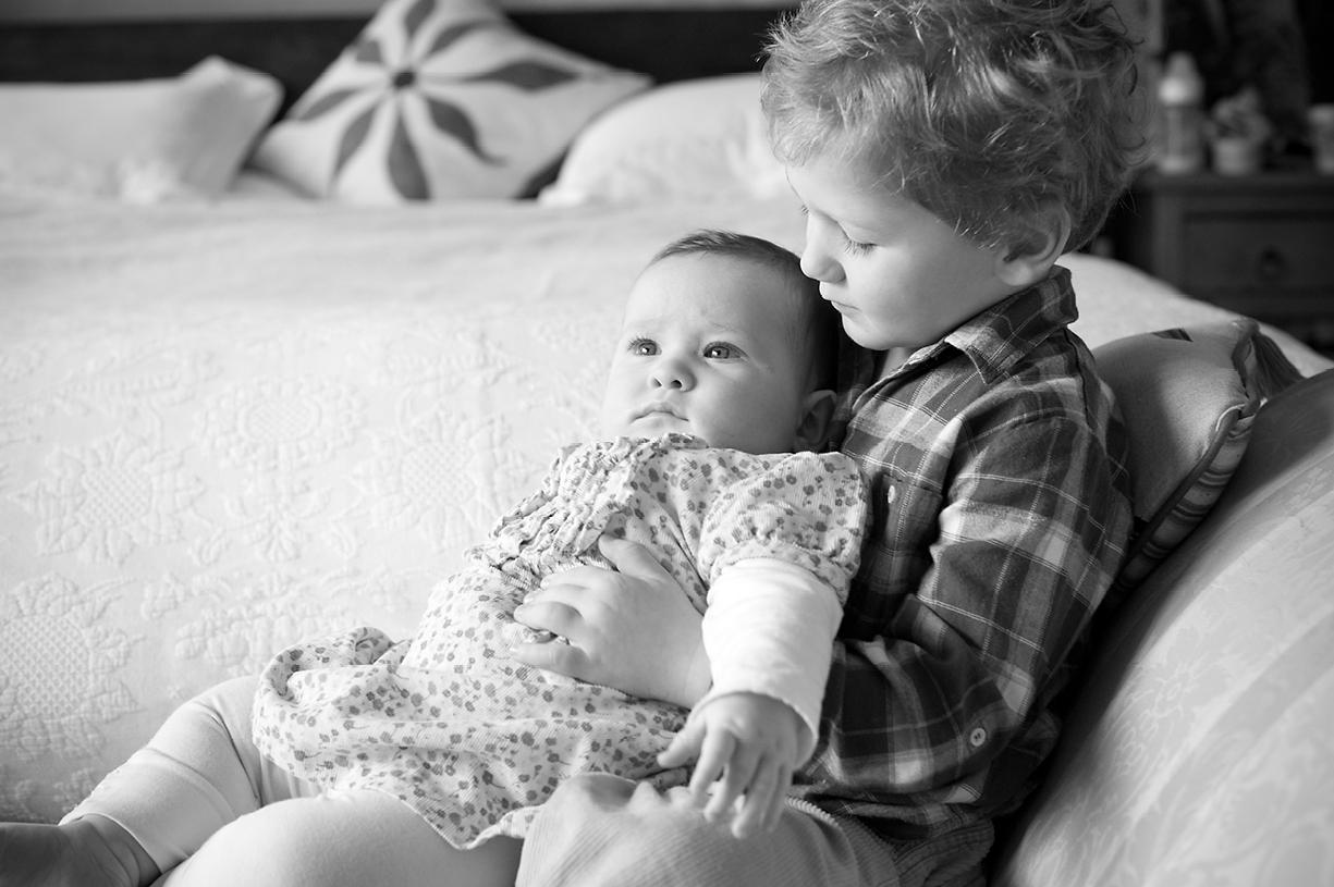 baby black & white & colour portrait photography London, Hampshire, Dorset, Wiltshire, Sussex natural fine art sessions at home