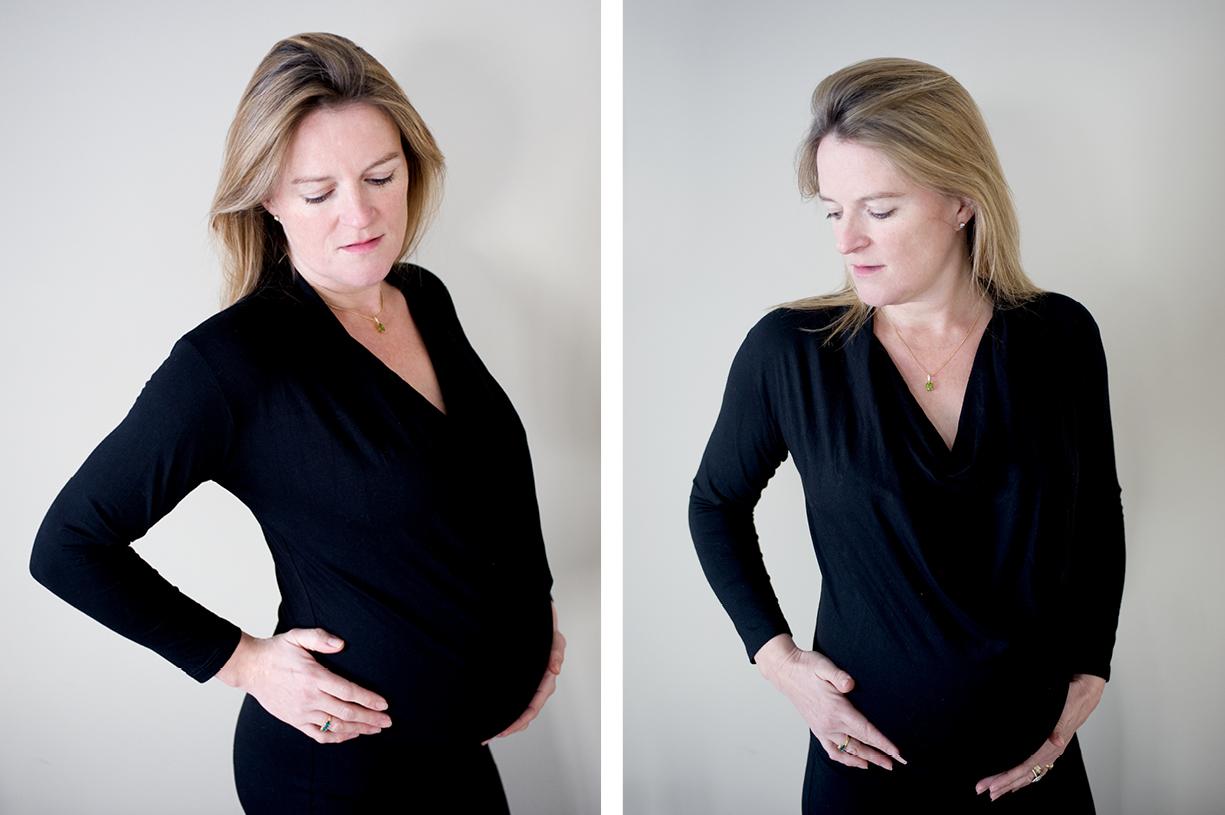pregnancy, bump, maternity & newborn black & white & colour portrait photography London, Hampshire, South England natural fine art at home sessions
