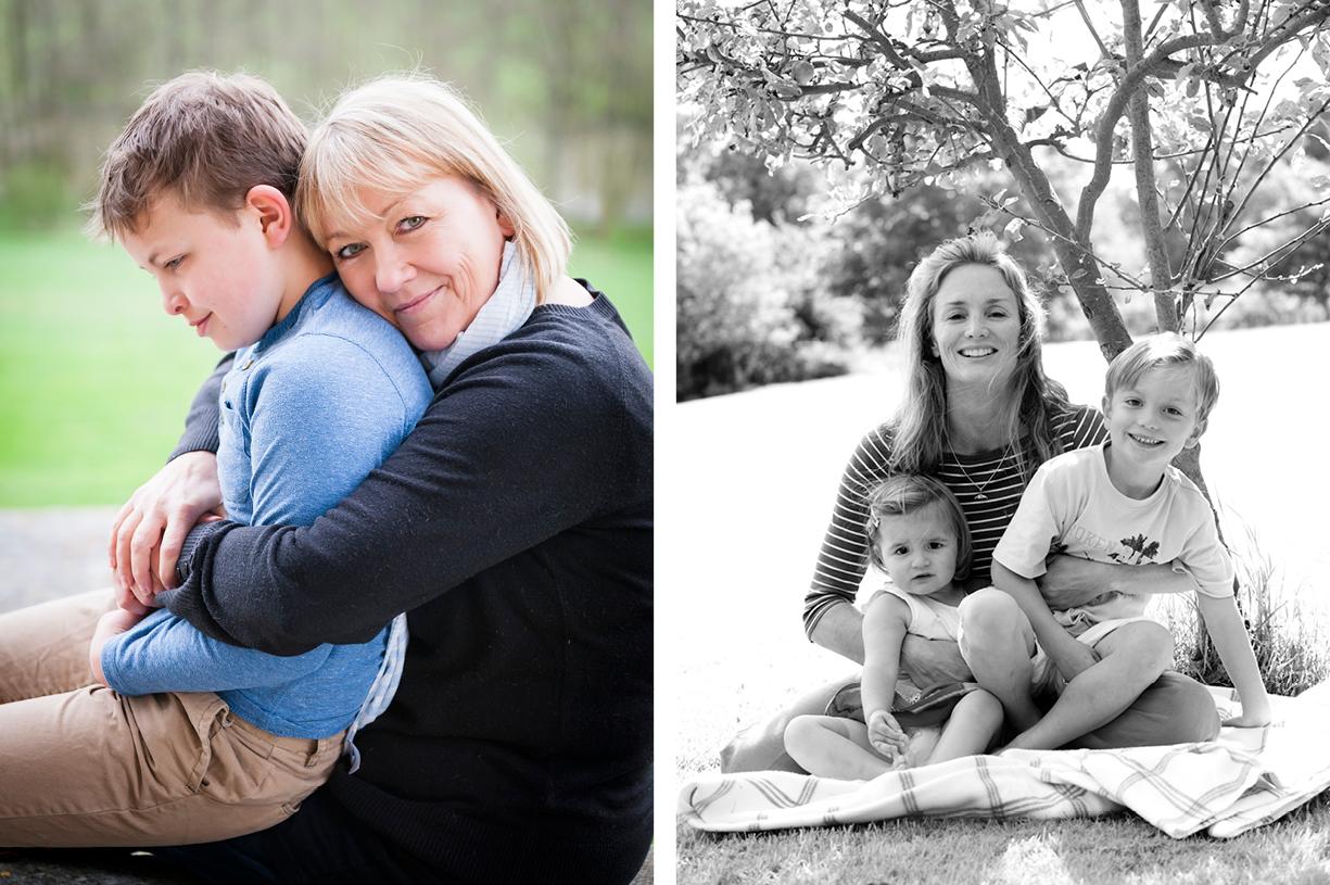 black & white & colour natural light portrait location family photography London, Hampshire, South England