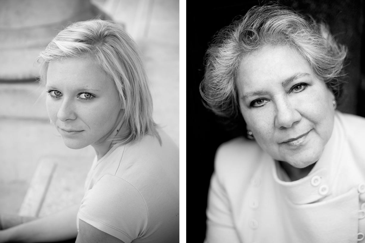 black & white & colour natural light head shot portrait location photography London, Hampshire, South England